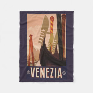 Venezia (Venice) Italy vintage travel fleece