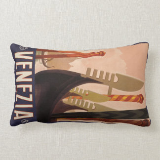 Venezia (Venice) Italy vintage travel pillow