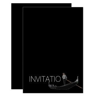 Venezian Gondola Invitation