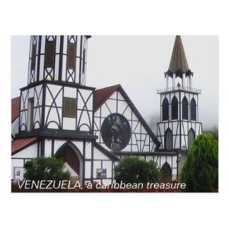 VENEZUELA, a caribbean treasure Postcard