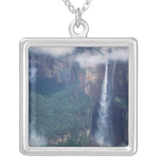 Venezuela, Angel Falls, Canaima National Park Silver Plated Necklace