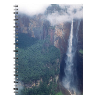 Venezuela, Angel Falls, Canaima National Park Spiral Notebooks