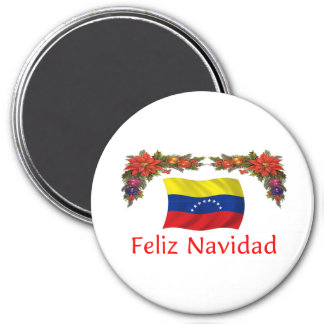 Venezuela Christmas Magnet