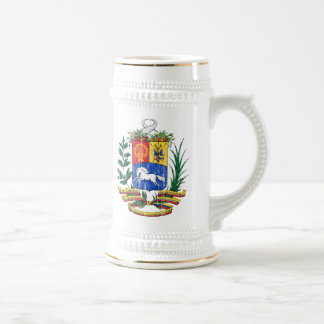 Venezuela Coat Of Arms Beer Stein