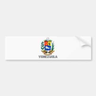 Venezuela Coat of Arms Bumper Sticker