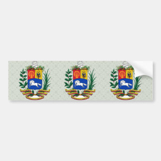Venezuela Coat of Arms detail Bumper Sticker