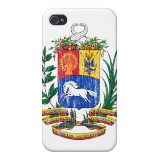 Venezuela Coat Of Arms iPhone 4 Case