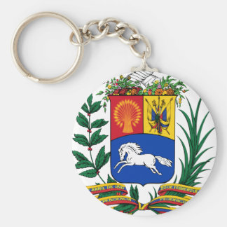 Venezuela coat of arms key ring