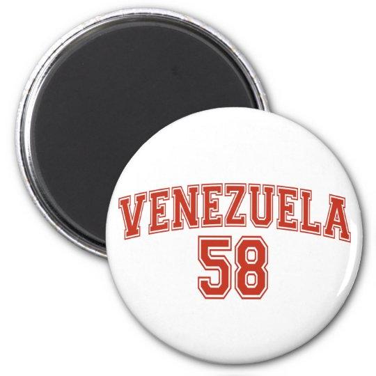 Venezuela Country Code Magnet