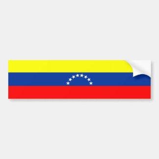 venezuela country flag nation symbol bumper sticker
