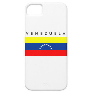 venezuela country flag nation symbol name text iPhone 5 case