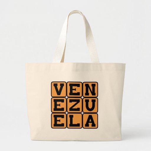 Venezuela, Country in South America Canvas Bag