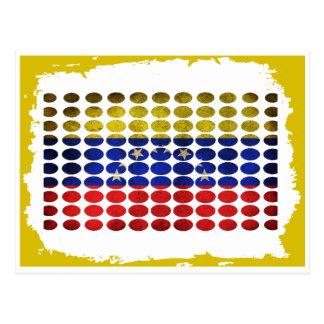 VENEZUELA DIRTY FLAG PRODUCTS POSTCARDS