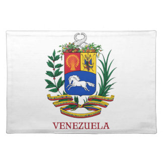 VENEZUELA - emblem/coat of arms/flag/symbol Placemat