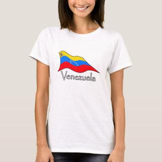 Venezuela Flag 7 Stars and Original Coat of Arms T-Shirt