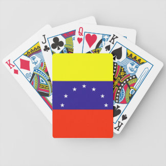 Venezuela Flag Bicycle Playing Cards