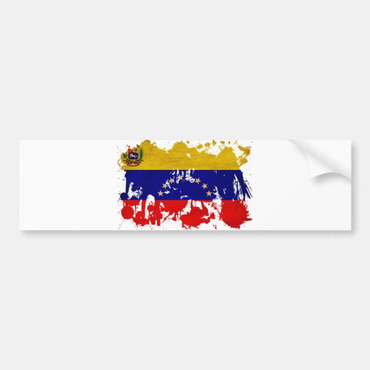Venezuela Flag Bumper Sticker