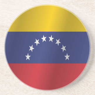 Venezuela flag drink coaster