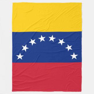 Venezuela Flag Fleece Blanket
