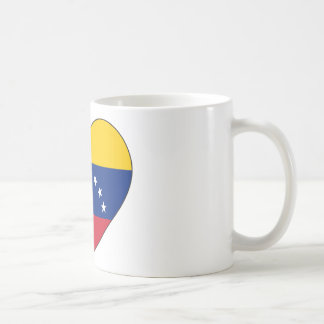 Venezuela Flag Heart Coffee Mug