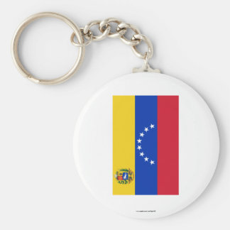 Venezuela Flag Key Ring