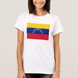 Venezuela Flag on T Shirt Country Flags