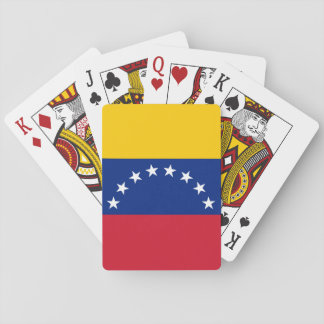 Venezuela Flag Playing Cards