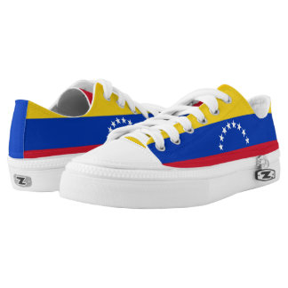 Venezuela Flag Printed Shoes