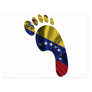 VENEZUELA FLAG PRODUCTS POSTCARD