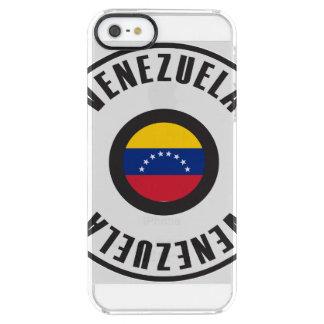 Venezuela Flag Simple Clear iPhone SE/5/5s Case