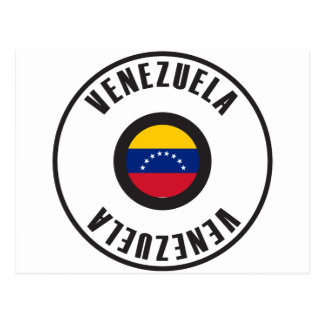 Venezuela Flag Simple Postcard