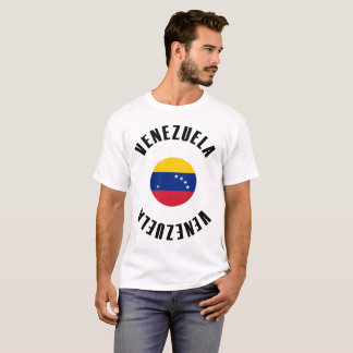 Venezuela Flag Simple T-Shirt