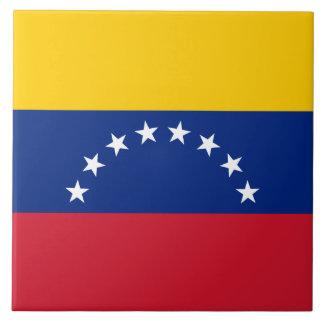 Venezuela Flag Tile