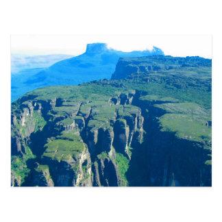 Venezuela Landscape from Airplane Fine Art Postcard