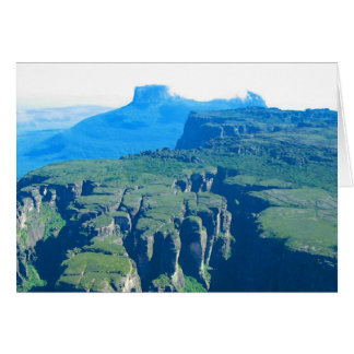 Venezuela Landscape from Airplane Photo Card