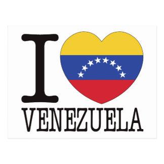 Venezuela Love v2 Post Cards