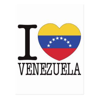 Venezuela Love v2 Post Card