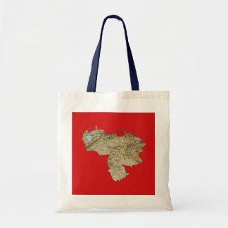 Venezuela Map Bag