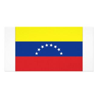 Venezuela National Flag Photo Cards