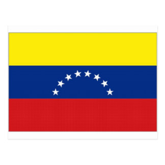Venezuela National Flag Postcard