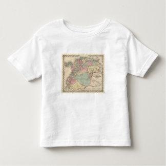 Venezuela, New Granada Colombia and Ecuador Shirts
