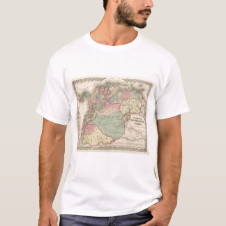 Venezuela, New Granada Colombia and Ecuador T-Shirt