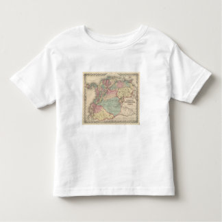 Venezuela, New Granada Colombia and Ecuador Toddler T-Shirt