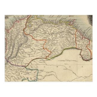Venezuela, New Granada, Equador, and the Guayanas Postcard