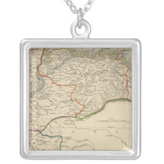 Venezuela, New Granada, Equador, and the Guayanas Silver Plated Necklace