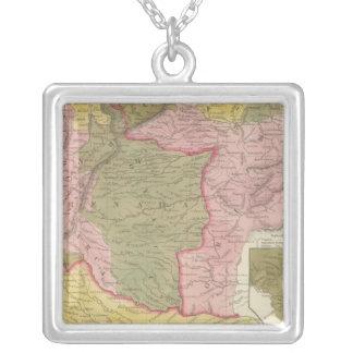 Venezuela, New Grenada and Equador Silver Plated Necklace