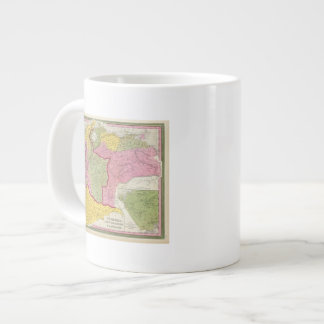 Venezuela, New Grenada & Equador Large Coffee Mug