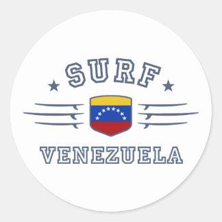 Venezuela Round Sticker