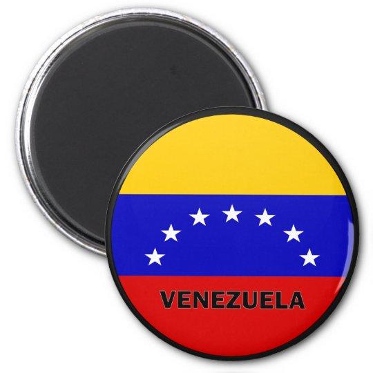 Venezuela Roundel quality Flag 6 Cm Round Magnet