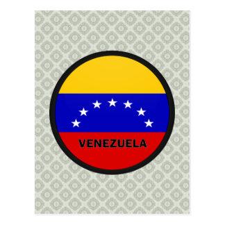 Venezuela Roundel quality Flag Post Cards